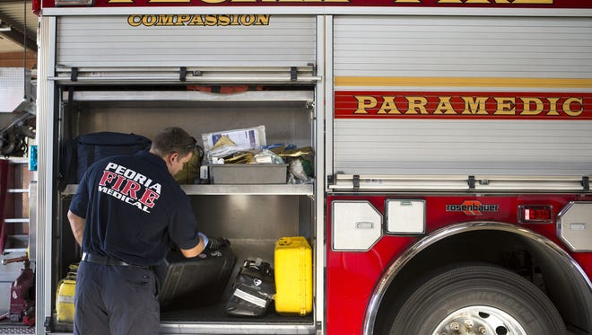 One of the responsibilities of Peoria's city government is to ensure there are adequate police and firefighters on duty.