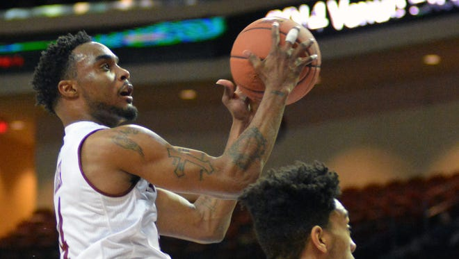 New Mexico State guard Ian Baker is the lone senior for the Aggies this season.