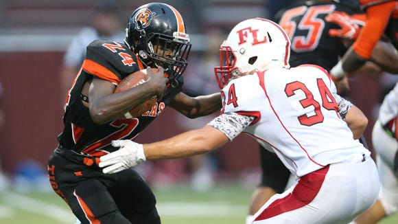 Spring Valley's Jacquan Chambers, 24, looks to break