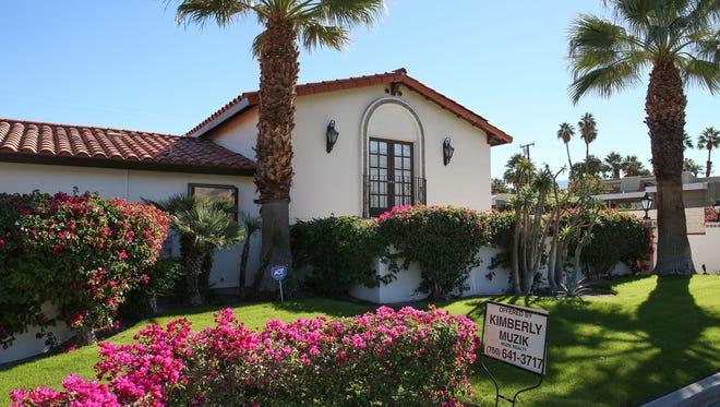A home for sale on Ocotillo Dr. in Palm Desert, November 18, 2016