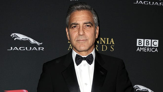 """George Clooney says a recent 'Daily Mail' story about his fiancee's mother is """"at the very least negligent and very possibly dangerous."""""""