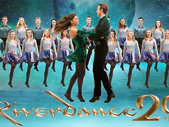 Enter to Win 2 Front Row seats to RIVERDANCE at the Weidner Center. Enter 1/24-2/18