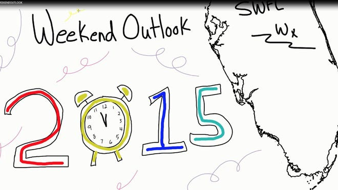 The first weekend of 2015 in Southwest Florida will be a warm one.