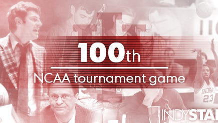 Friday will mark IU's 100th NCAA tournament game.