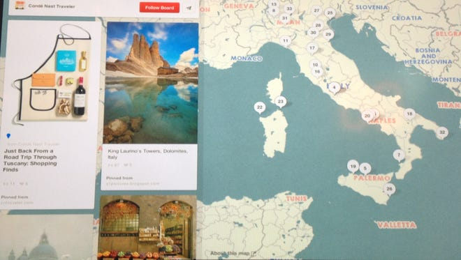 Pinterest launches place pins