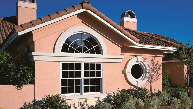 Larger and taller homes with complicated features might make a difficult do-it-yourself paint job.