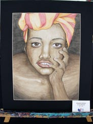 Art by Elizabeth Coleman, 1st place winner for the