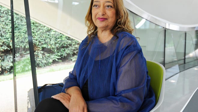 Zaha Hadid, the Iraqi-born British architect who designed modernist, futuristic buildings acclaimed around the world, died in a Miami hospital Thursday. She was 65. Hadid was the architect for Michigan State's Board Museum.