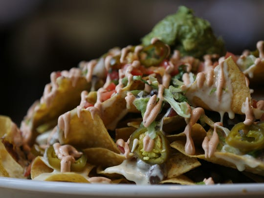 The drunken nachos at Malo on Wednesday, May 3, 2017, in Des Moines.