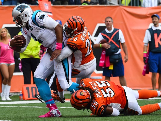 NFL: Carolina Panthers at Cincinnati Bengals