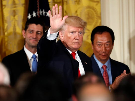 Donald Trump, Paul Ryan, Terry Gou