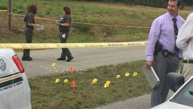 A man's body was found early Tuesday along a bike path just west of Florida's Turnpike in St. Lucie County. The St. Lucie County Sheriff's Office is investigating the death as a homicide.