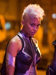 Alexandra Shipp's Storm is as fierce as her Mohawk.