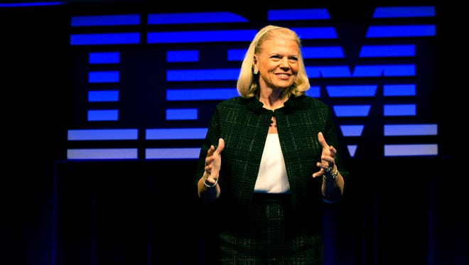 IBM CEO Ginni Rometty.