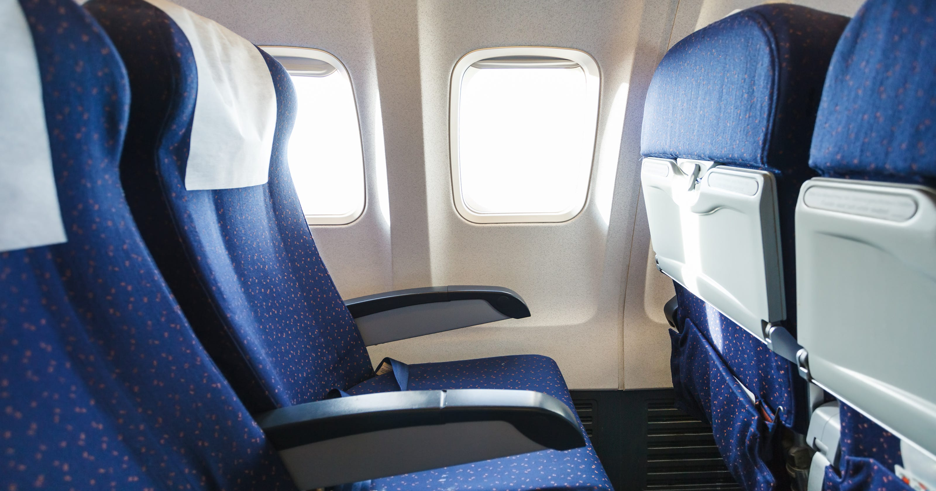 The worst places to sit on a plane