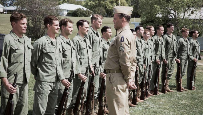 "Vince Vaughn in ""Hacksaw Ridge."""