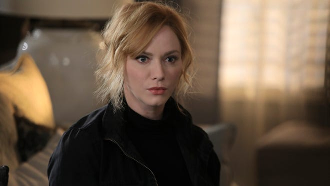 Suburban housewife Beth Boland (Christina Hendricks) is pushed to the limits in NBC's new crime dramedy 'Good Girls.'