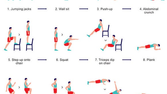 The scientific 7-minute workout.