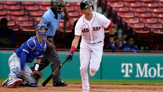 Bobby Dalbec's fourth-inning home run wasn't enough for the Red Sox in a 10-8 loss to the Blue Jays on Sunday at Fenway Park.