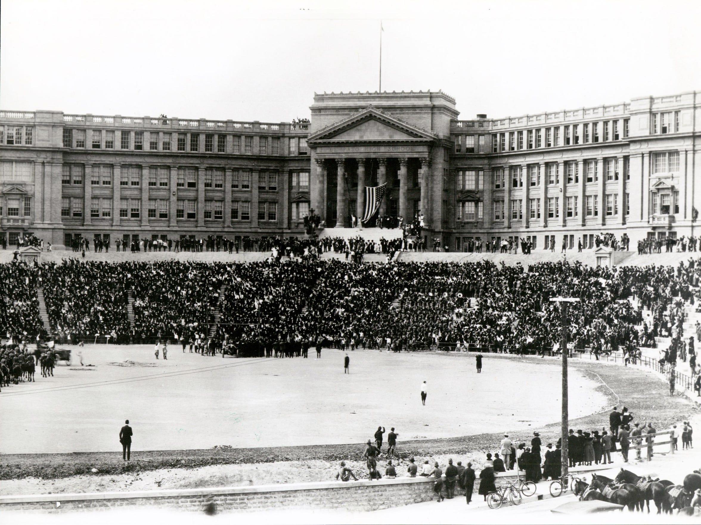 El Paso High School c. 1918
