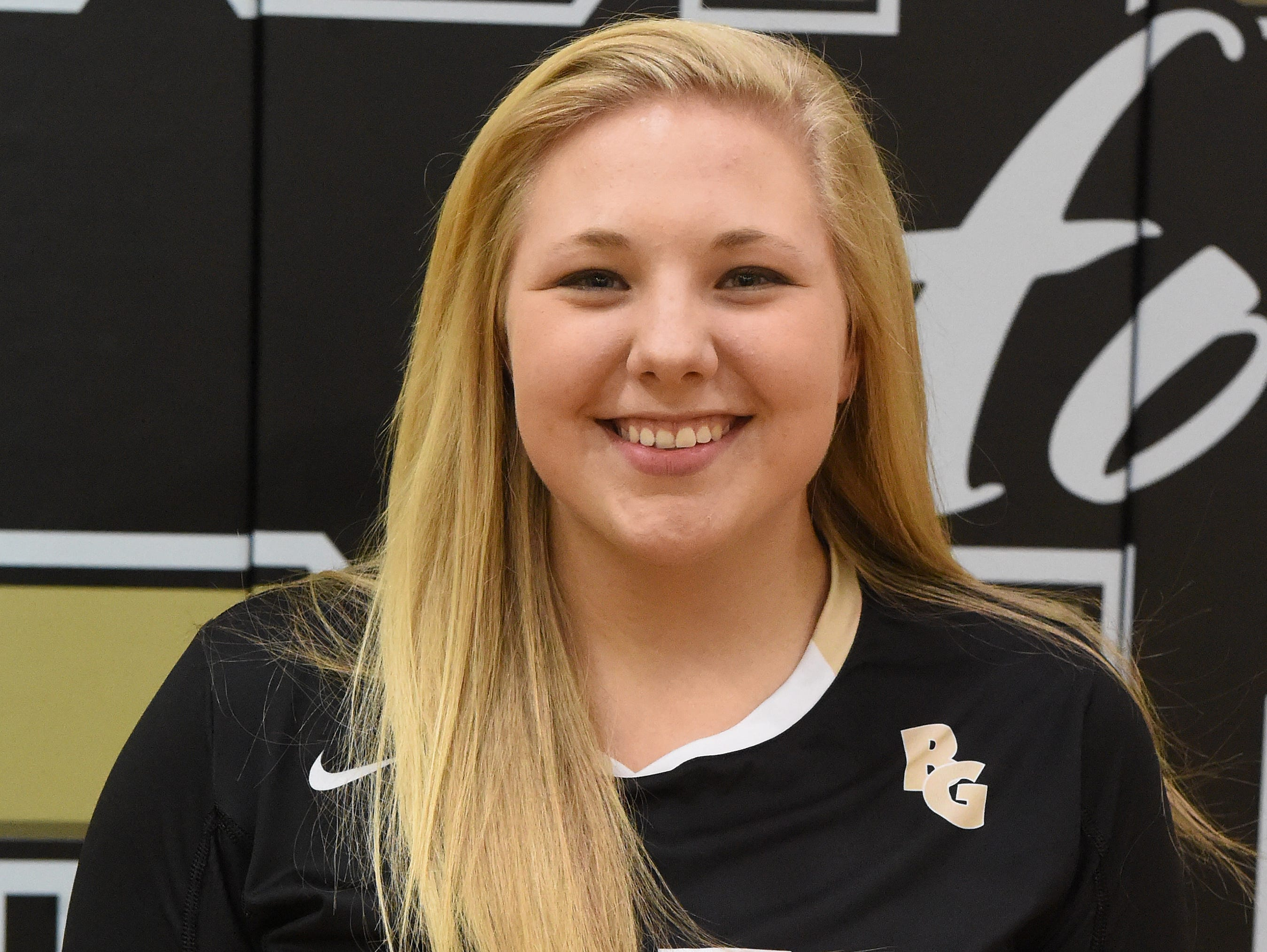 CAMILLE ASHBY junior Buffalo Gap 898 assists, 268 digs, 90 kills, 78 aces.
