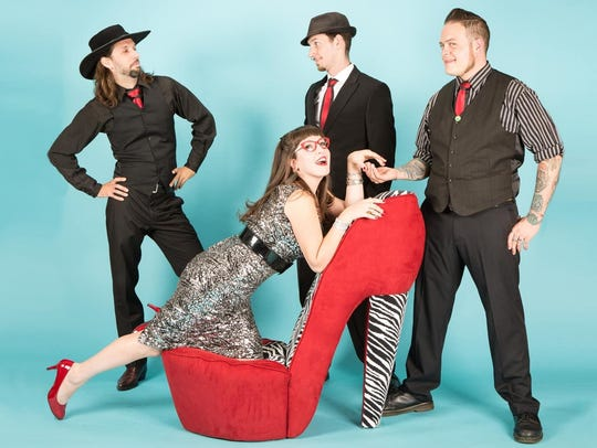 Lara Hope and the Ark-Tones will open for the Blasters