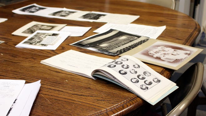 Senior classes from throughout Deming's history are sorted through in an effort to find missing photos. The Deming-Luna Mimbres Museum archives are assisting Waldon Wolf's search for the photos.