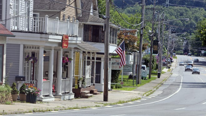 Route 17 in the Village of Sloatsburg. Residents have voiced concern about a proposed casino in nearby Tuxedo.   Seth Harrison/The Journal News Route 17 in the Village of Sloatsburg, photographed July 21, 2014. Area residents have expressed concern about a proposed casino to be built in nearby Tuxedo.  Genting Americas wants to build a $1.5 billion casino where the Tuxedo Ridge Ski Center is located and the annual New York Renaissance Faire is held. The site is also on the periphery of the 22,000 acre Sterling Forest State Park.