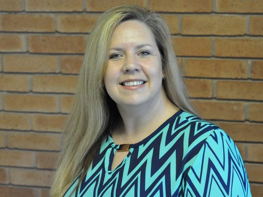 Natalie Brown works as a detective overseeing domestic cases with the Rapides Parish Sheriff's Office.