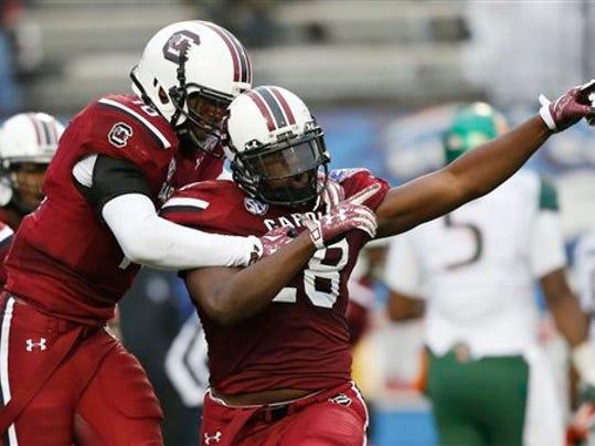 College Football Week 1 Predictions: South Carolina vs North Carolina