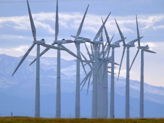Wind Farm Los Angeles Power