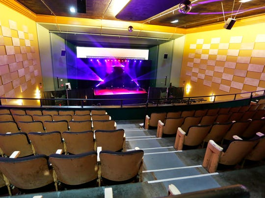 Interior of Lafayette Theater Tuesday, August 18, 2015, at Sixth and Main streets in downtown Lafayette.