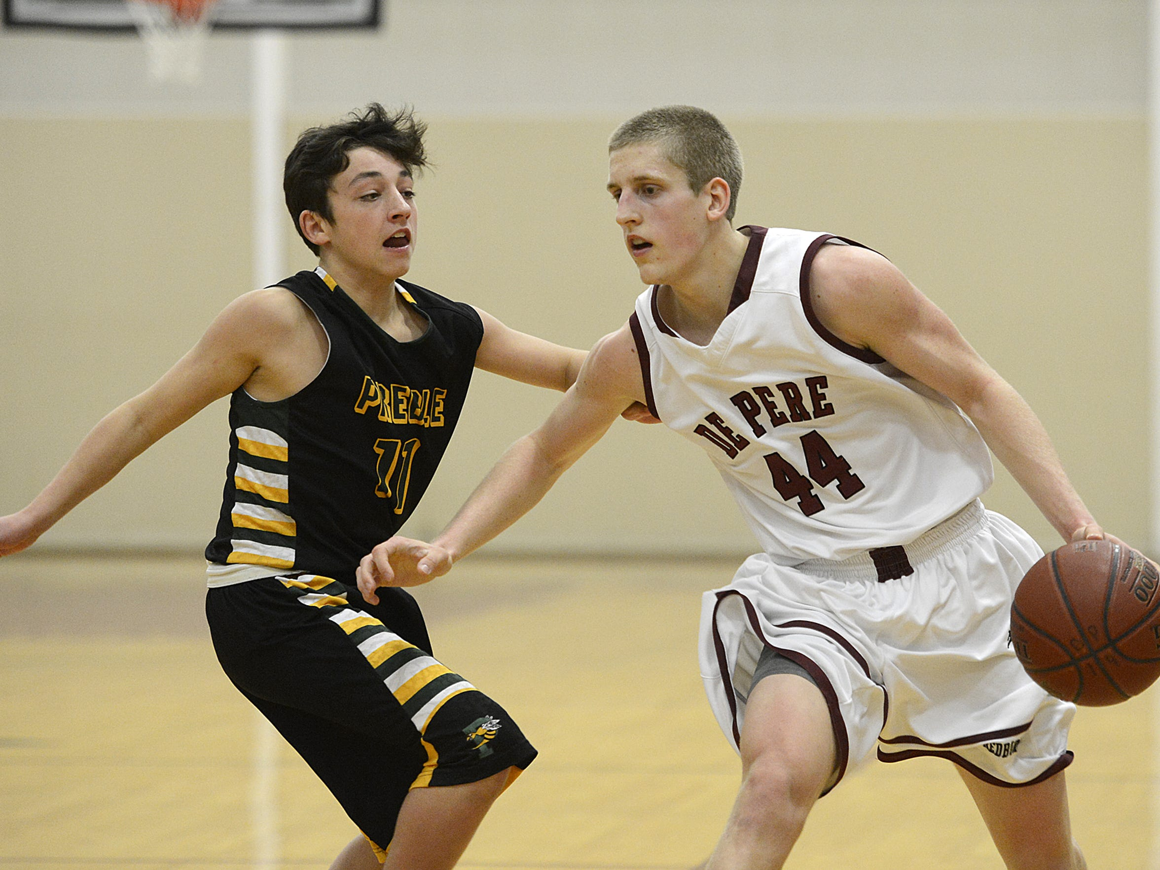 De Pere's Brevin Pritzl came up just short of breaking the Green Bay metro scoring record as a senior.
