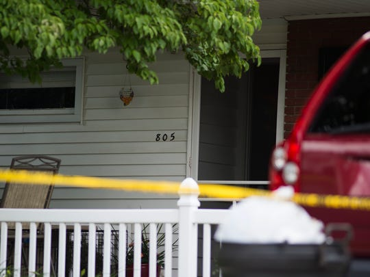 The home at 805 E. Cypress St. in Palmyra Borough where police arrested Jacob Taliaferro, 17, after he allegedly murdered Lorrie Ann Demko early Monday morning, June 6, 2016, according to a release from the Lebanon County District Attorney's Office. Taliaferro allegedly stabbed Demko and then strangled her until she died, according to the release. Demko is Taliaferro's mother, according to officials.