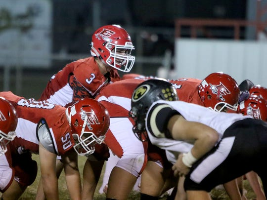 Electra's strong showing against Petrolia was the result of winning the battle up front in the trenches.