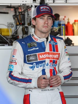 Ryan Blaney, 23, is currently in his second full-time season driving the No. 21 Ford for the Wood Brothers, with whom Team Penske shares a technical alliance.