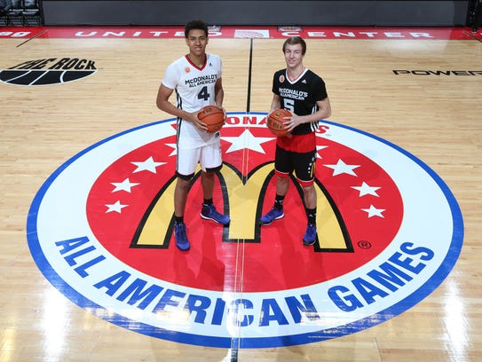 McDonalds High School All American center Chase Jeter