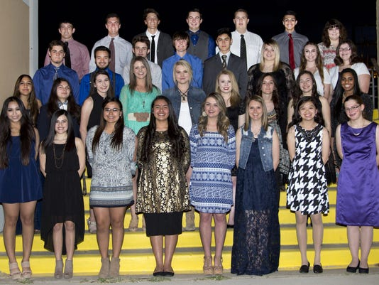 NHS 2016 inductees