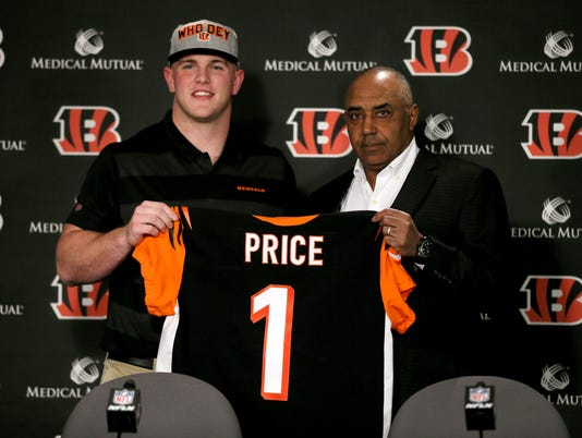 042718 NFL DRAFT, Ohio State center Billy Price