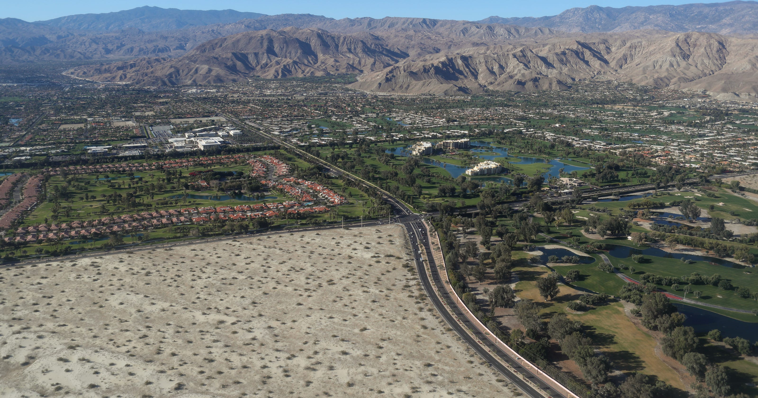 A square mile of virgin sand in Rancho Mirage just sold for $75M