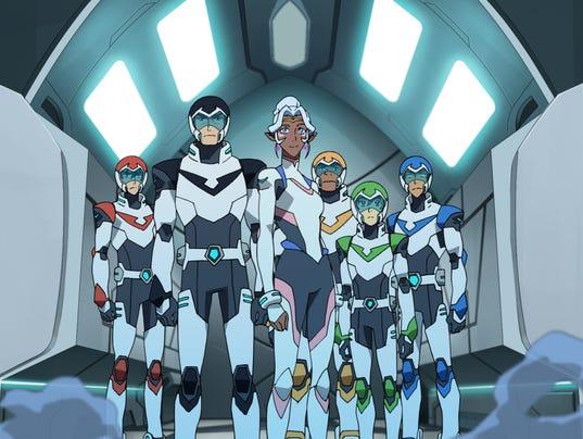 Voltron team