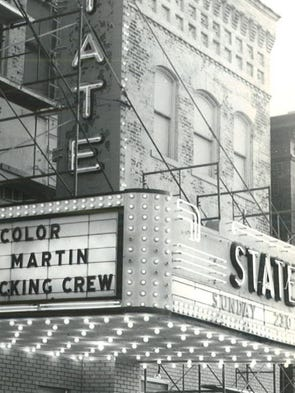 The State Theatre, shown in 1969, is located in Washington,