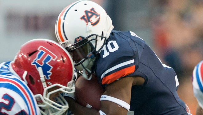 Auburn wide receiver Stanton Truitt will miss the rest of the season due to shoulder surgery.