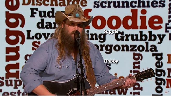 Chris Stapleton sings 'cringeworthy' words on 'Jimmy Kimmel Live!'