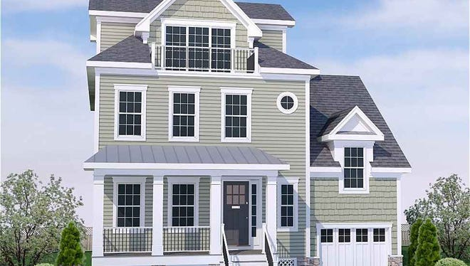 Model B is one of the model homes that will be available in summer 2018 at Sharbell Development's property in Normandy Beach, NJ.