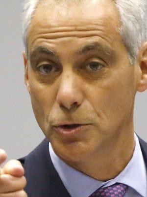 Chicago Mayor Rahm Emanuel.
