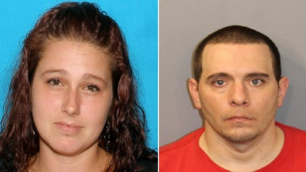 Lynne Servant, 35, and Kevin Baker, 39, both of Fall River, are wanted by Fall River police following an incident in which an 11-month-old child overdosed on fentanyl.