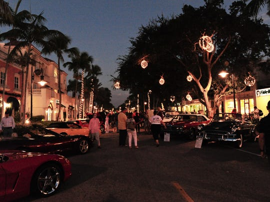The Rotary Club of Naples has held its annual festival at different spots -- the one is fro its 2014 festival on Fifth Avenue South -- but the components and the good cause are always the same.