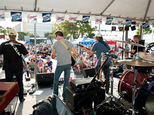 The Long Run, a renowned tribute band for The Eagles entertained hundreds of attendees during the Blues, Brews & BBQ on May 10, 2014.