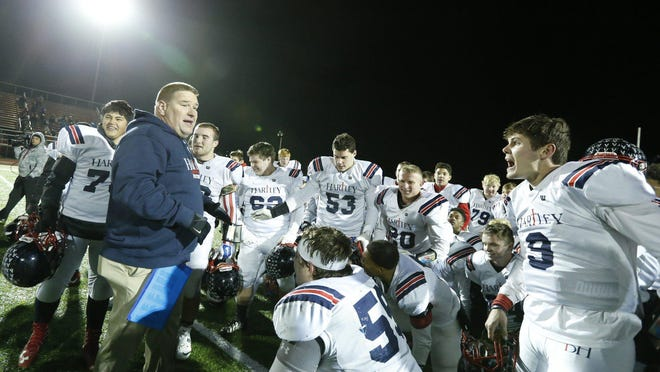 "Hartley football coach Brad Burchfield said he thinks the OHSAA's plan for the 2020 football season is ""brilliant."""